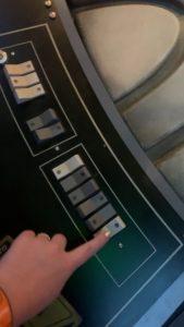 millenium falcon buttons
