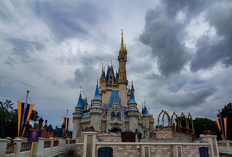 Cinderella Castle Storm