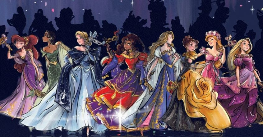 Disney Princess Midnight Masquerade