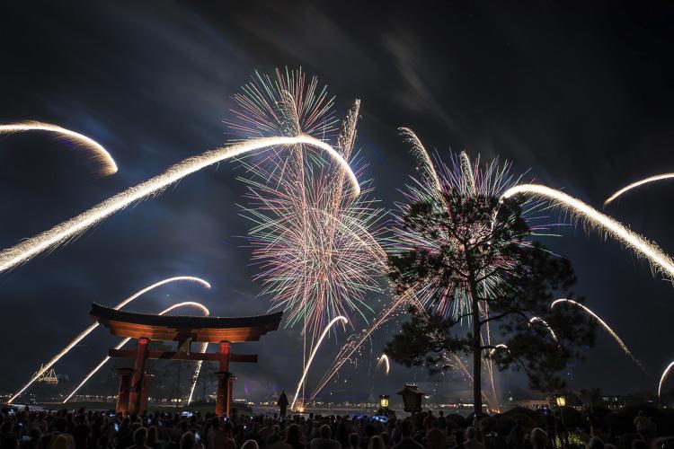 Epcot Forever Fireworks