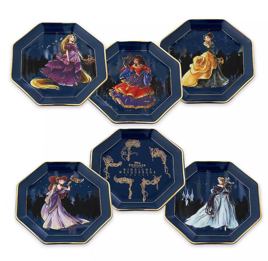 Midnight Masquerade - Plates