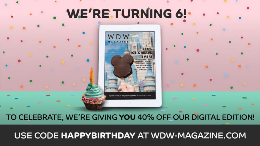 WDW Magazine Discount Code