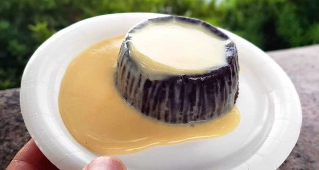 chocolate pudding epcot food and wine