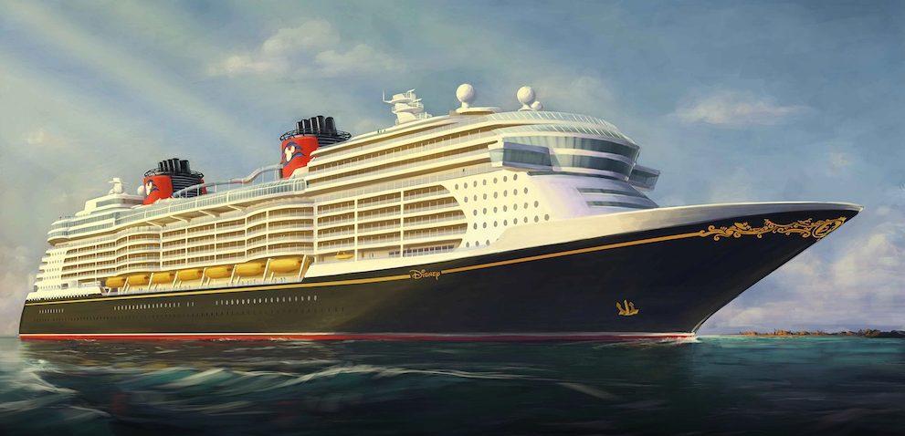 Disney Wish Ship by Disney Cruise Line