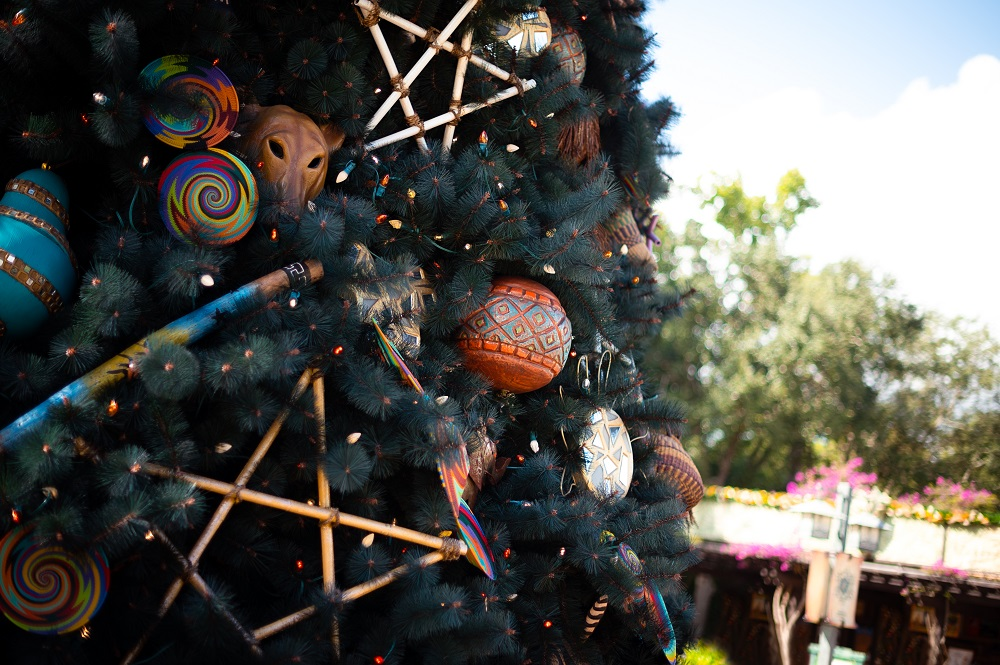 Christmas at Animal Kingdom Tree