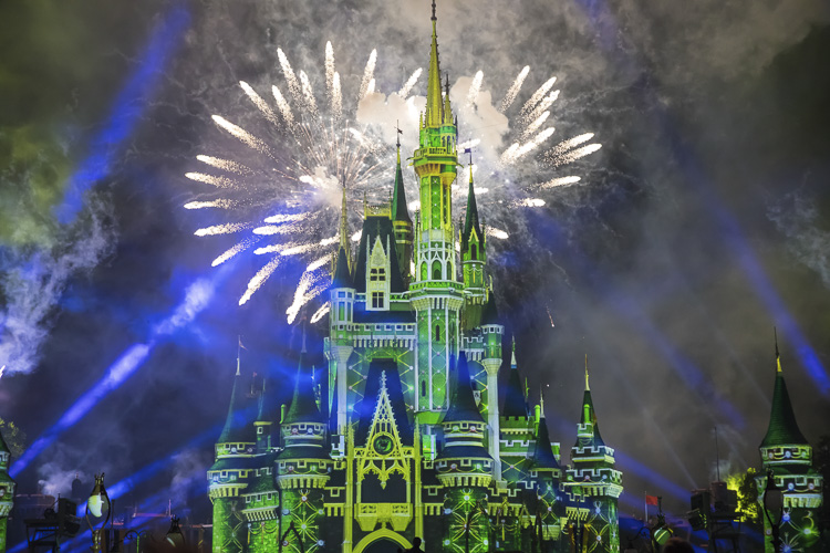 Minnie's Wonderful Christmastime Fireworks what does disney world look like at christmas?