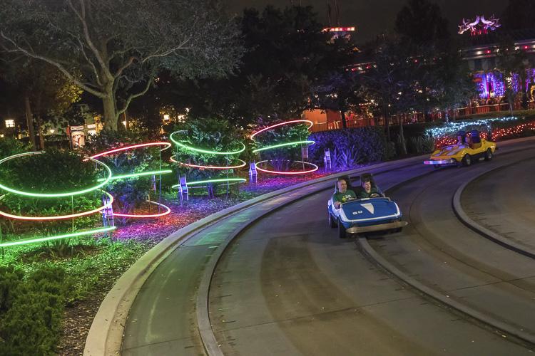 Tomorrowland Speedway Christmas Overlay