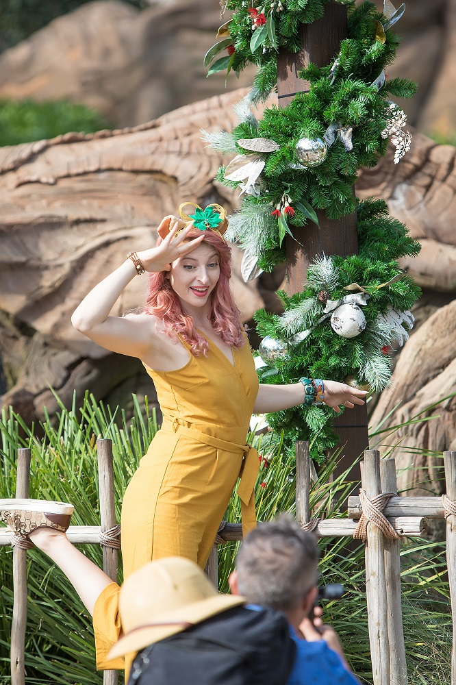 Christmas at Animal Kingdom Rain Blanken