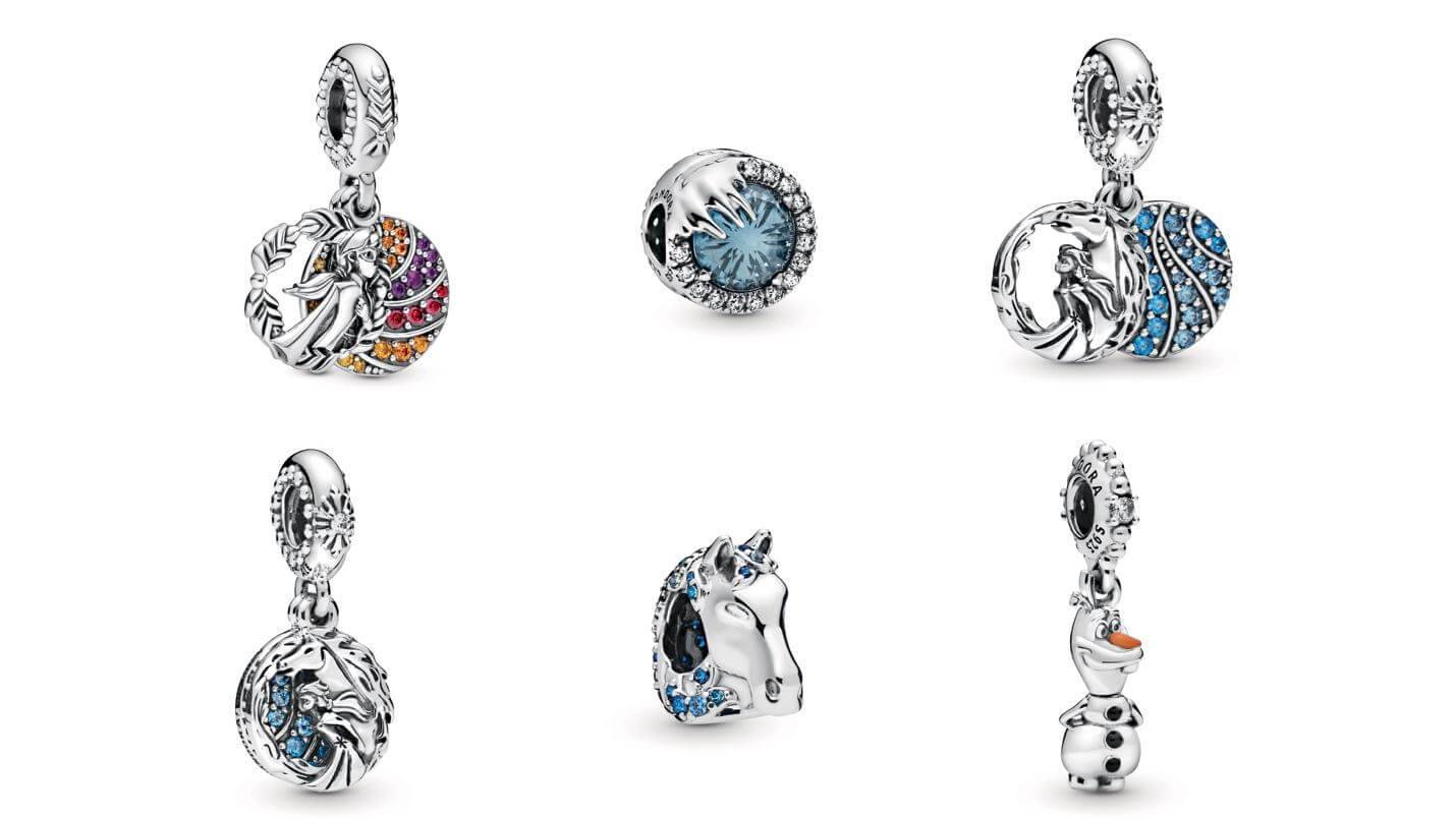 Frozen Pandora Charms