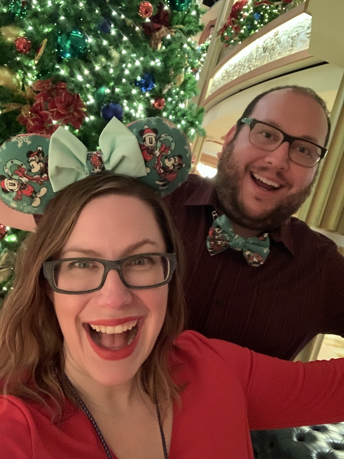 christmas on the disney dream