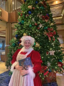 mrs claus Disney Very Merrytime Cruise