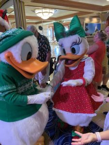 characters on Disney very merrytime cruise