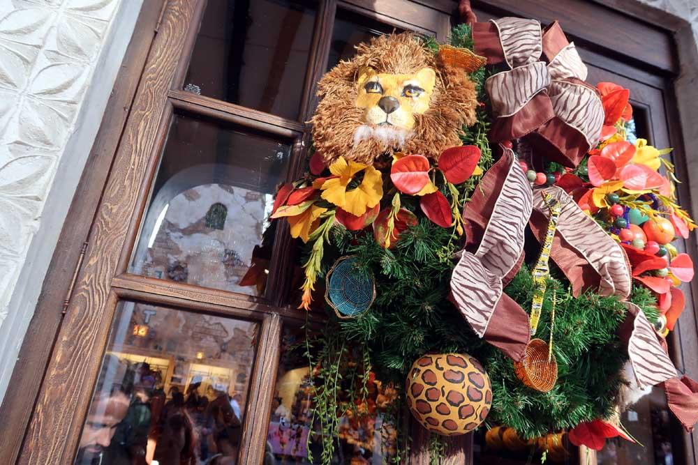 Lion King Wreath Animal Kingdom