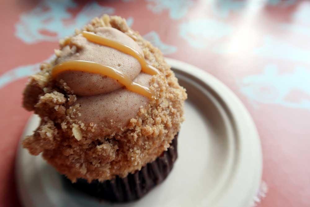 Caramel Apple Cupcake