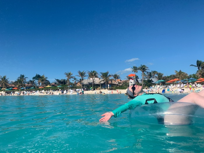 floats are including in the getaway package on castaway cay