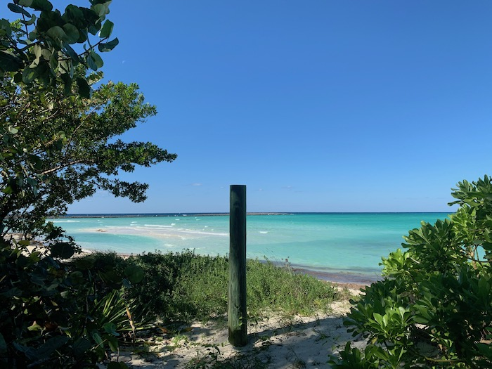 castaway cay view