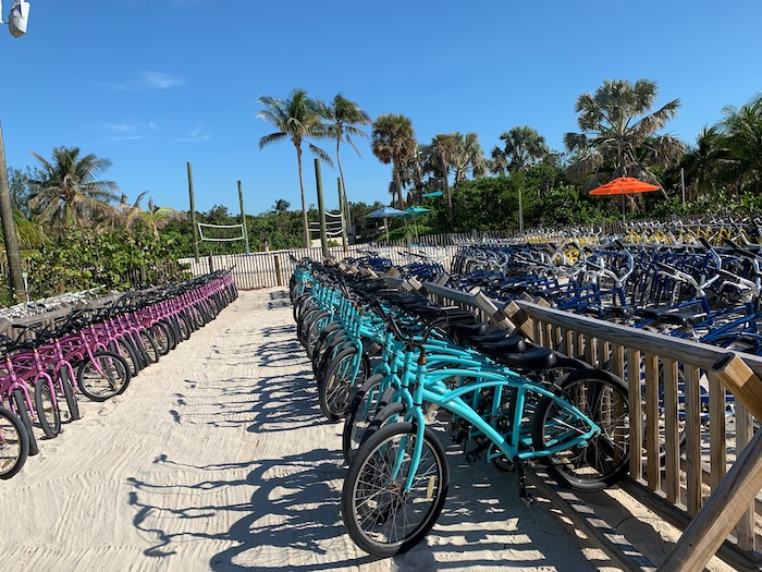 bikes on the beach getaway package on castaway cay