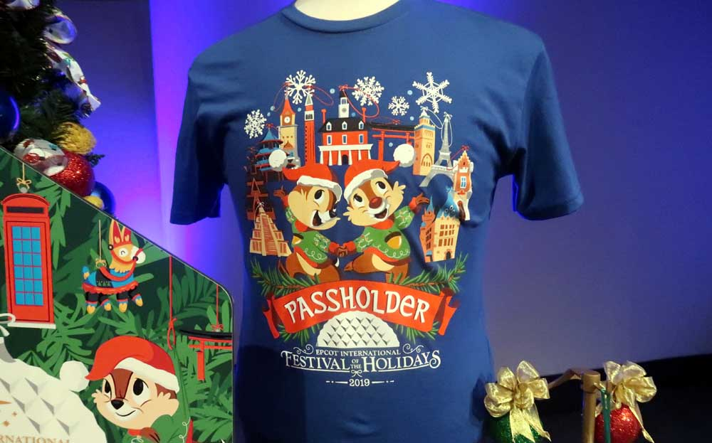 festival of the holidays passholder shirt