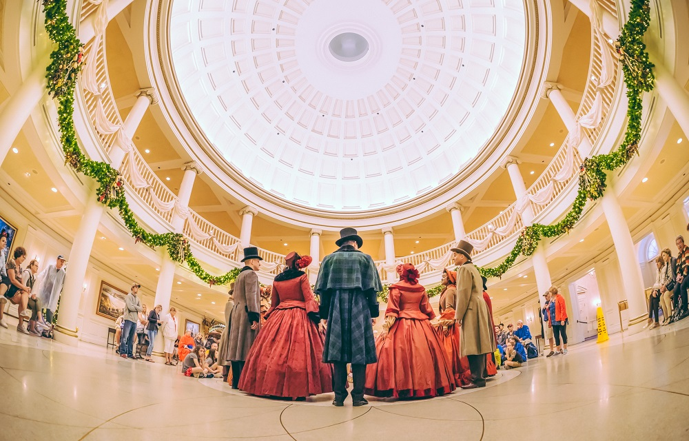 Voices of Liberty Christmas Judd Helms what does disney world look like at christmas?