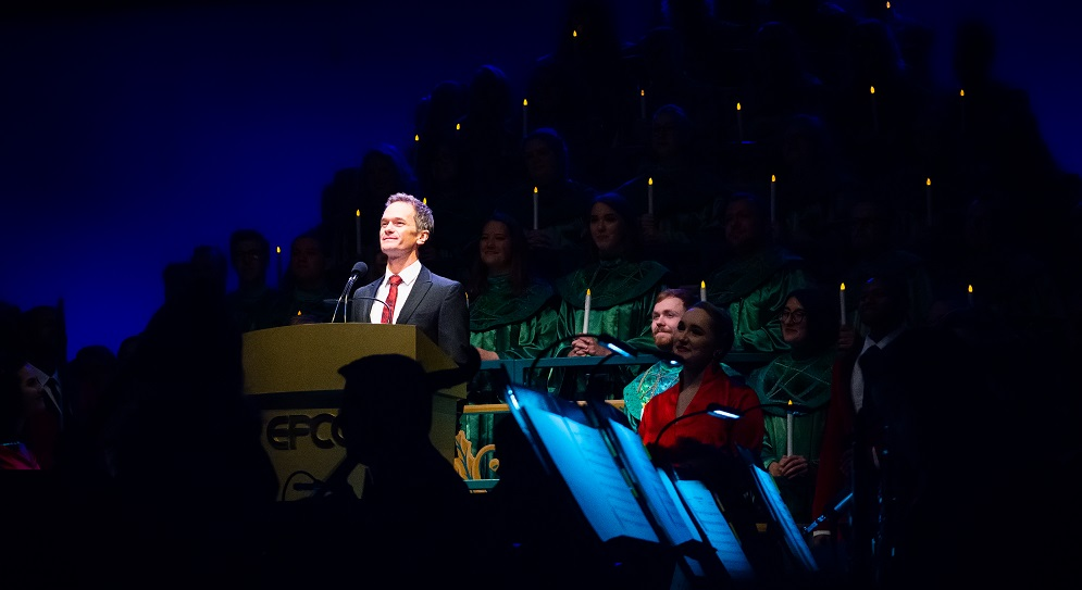 neil patrick harris at the 2019 Candlelight Processional