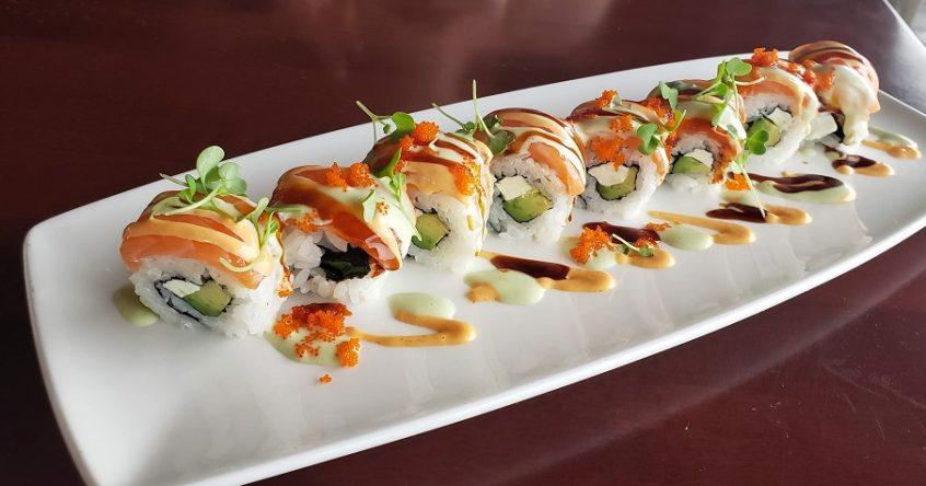 sushi tokyo dining disney world rain blanken