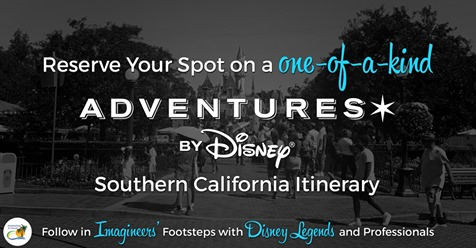 Adventures by Disney with Disney Legends