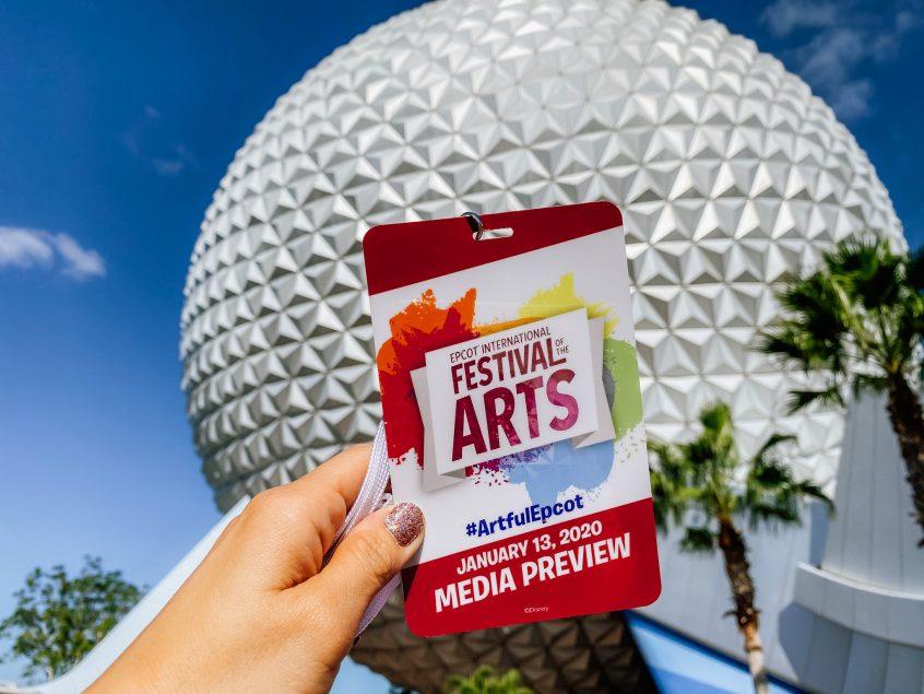 Festival of the Arts Media Pass 01