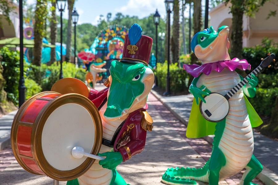 French Quarter alligator statues Svenson