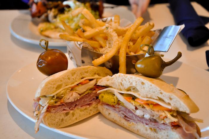 Spicy Italian Sandwich from Primo Piatto