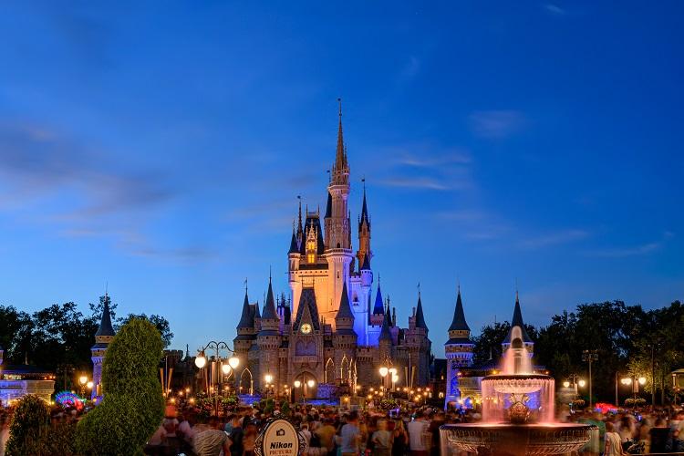 Cinderella Castle Disney World Billick