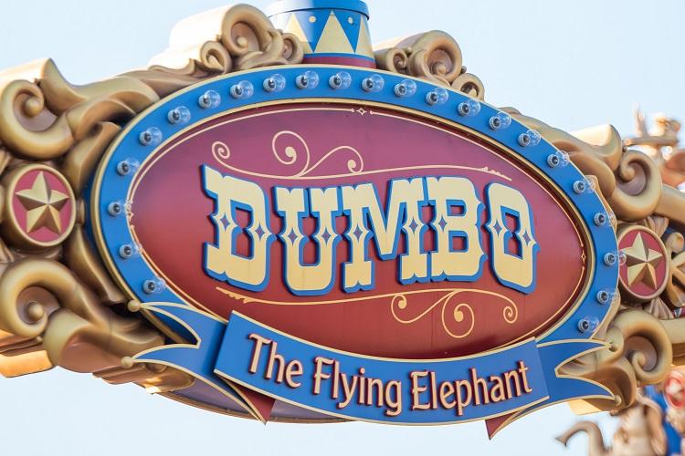 Dumbo Ride Sign Sapp