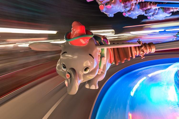 Dumbo the Flying Elephant Wang