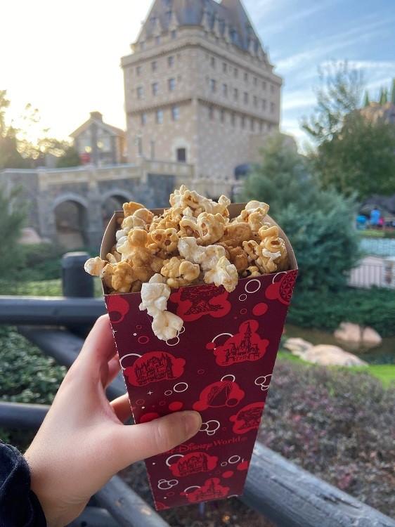 maple popcorn epcot small Meghan LeBoff