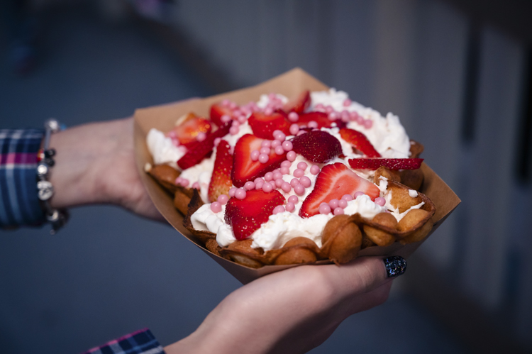 AristoCrêpes Strawberry Bubble Waffle