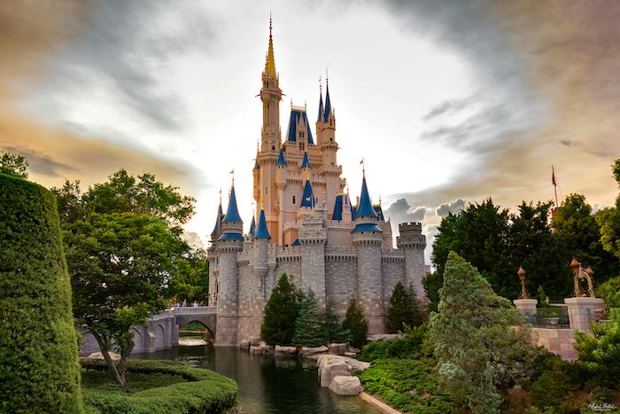 Disney World Closed Cinderella Castle