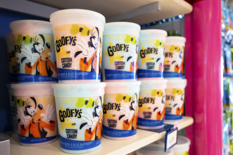 Goofy's Candy Co. cotton candy