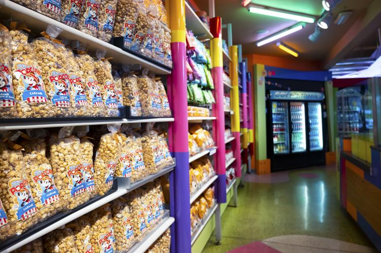 Goofy's Candy Co. popcorn
