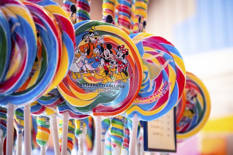 Goofy's Candy Co. lollipop