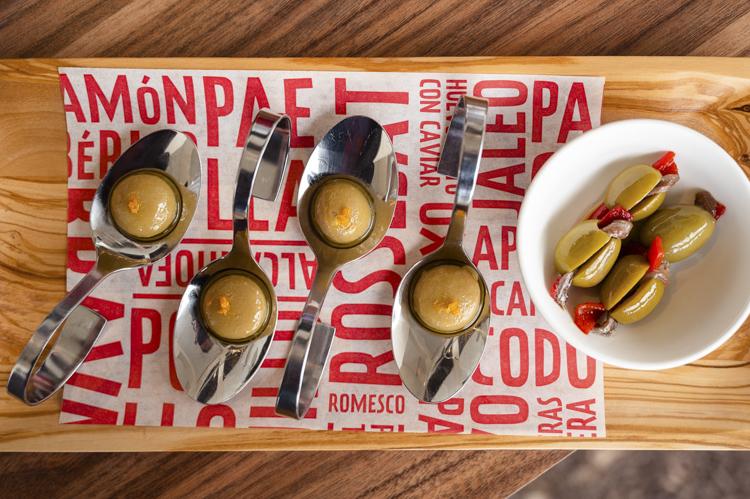 Jaleo Disney Springs olive plate