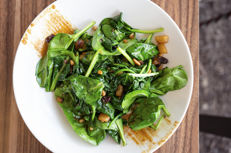 Jaleo Disney Springs spinach salad