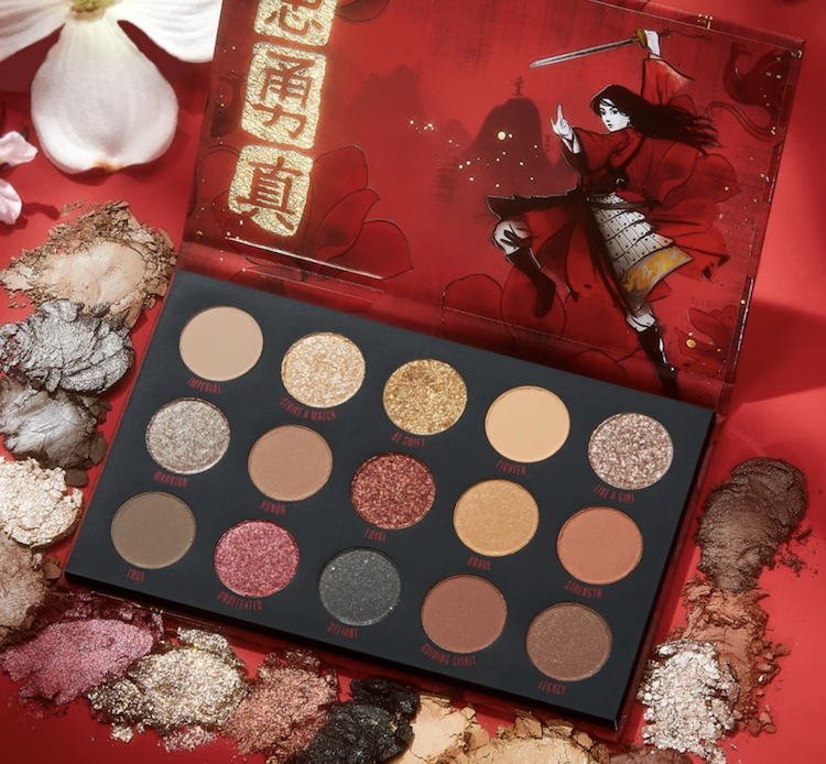 Mulan ColourPop Eyeshadow Palette