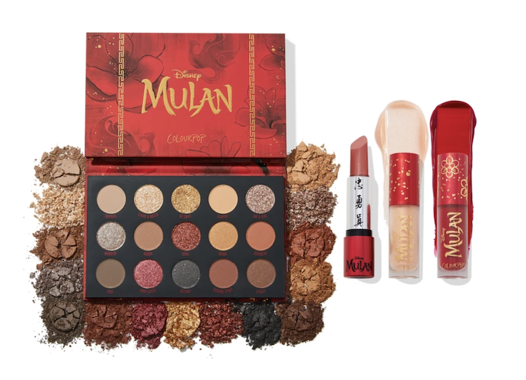 Mulan ColourPop true to your heart Set