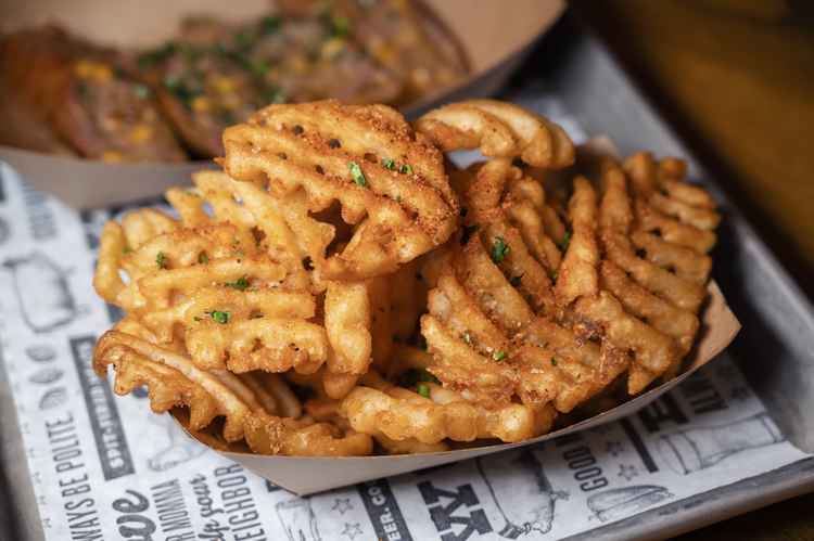 The Polite Pig BBQ Waffle Fries