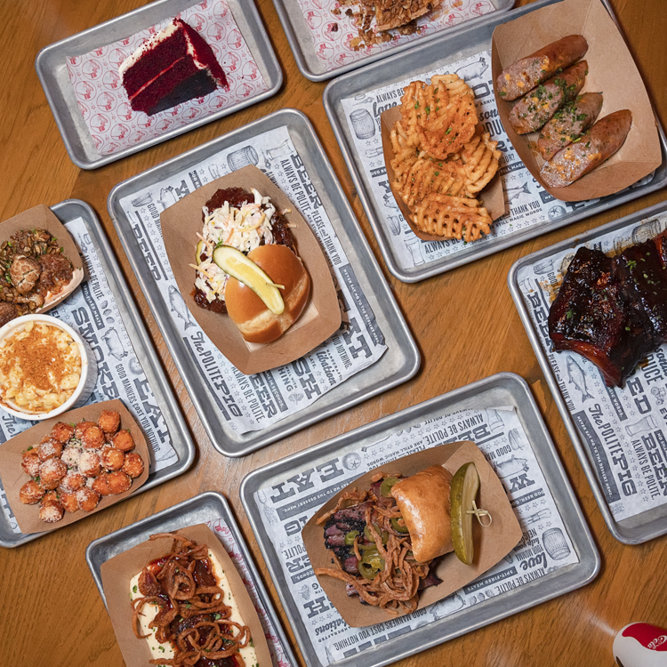 The Polite Pig flat lay
