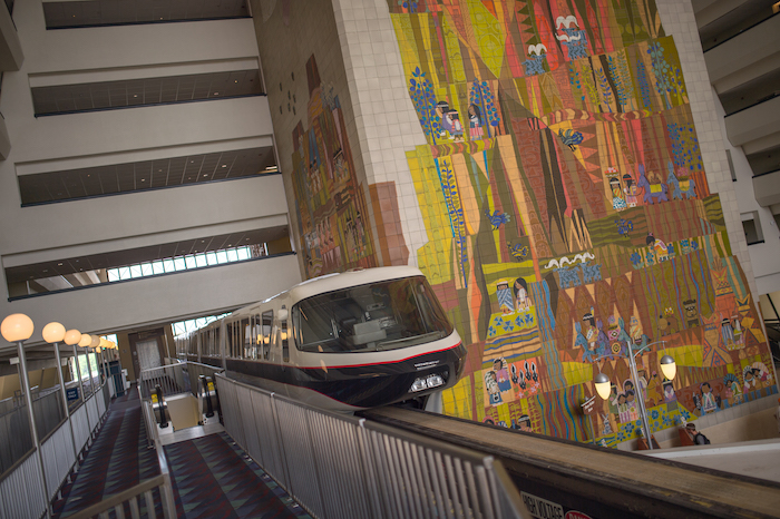 Mary Blair and Monorail