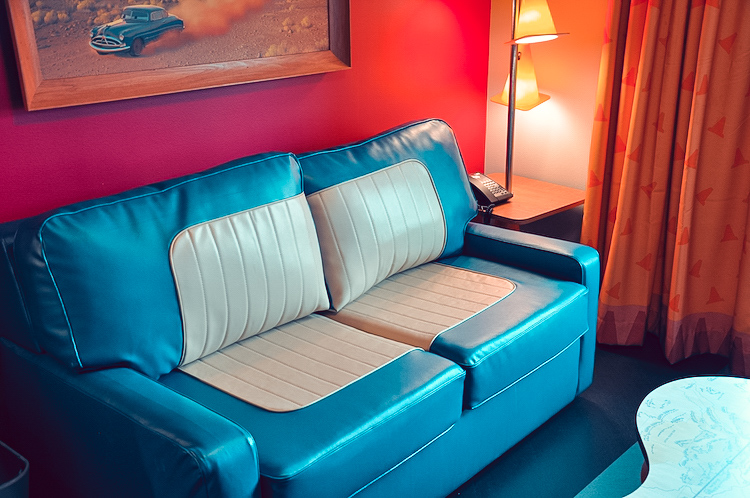 cars family suite sofa bed art of animation