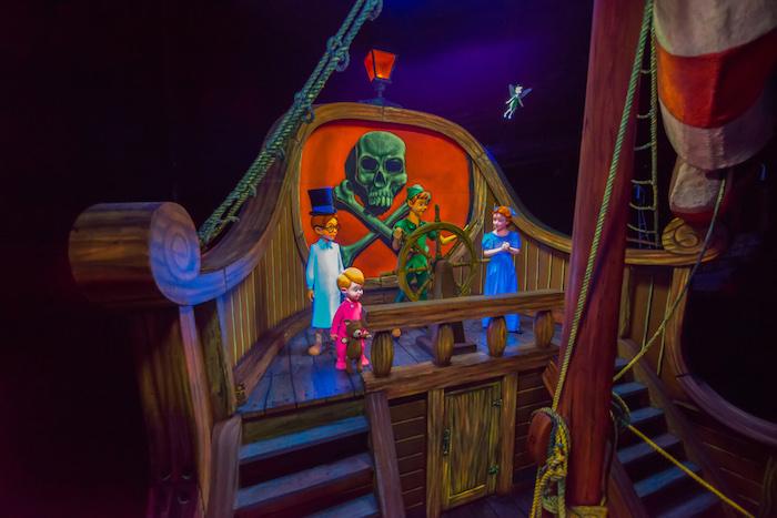 Scene From Peter Pan's Flight