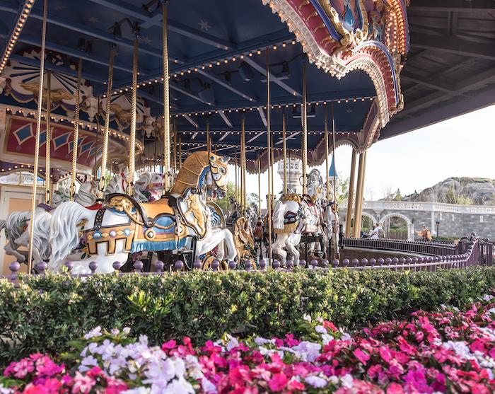 Carrousel at Magic Kingdom