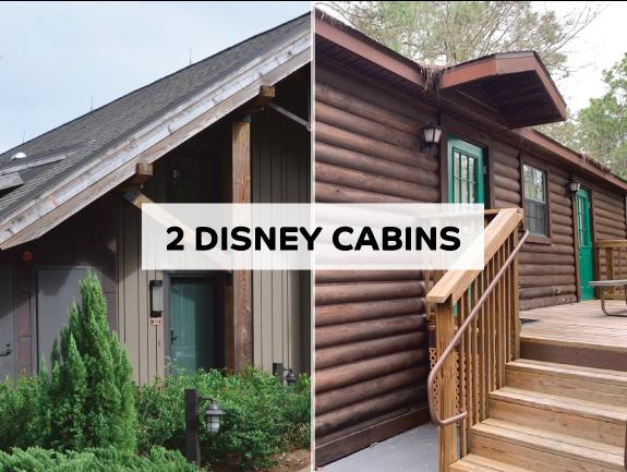 Disney World cabins