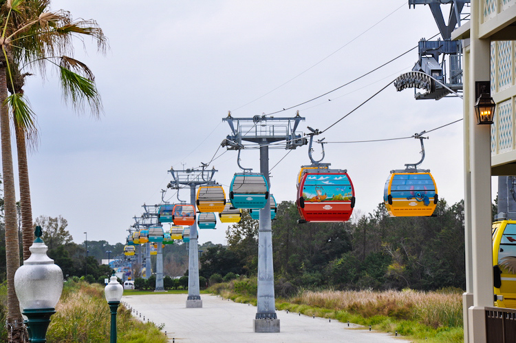 Caribbean Beach Resort Skyliner
